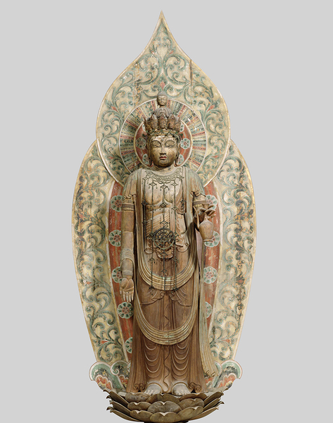 国宝 十一面観音菩薩立像