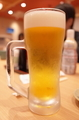 一番搾り生ビール(524円+税)