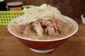小ブタ(800円)野菜+ネギ(100円)