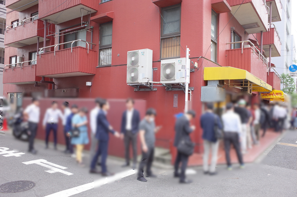 ラーメン二郎品川店