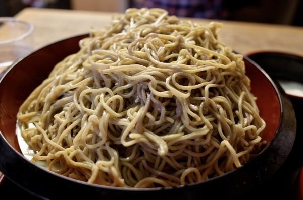 特盛の細麺ダッタン蕎麦