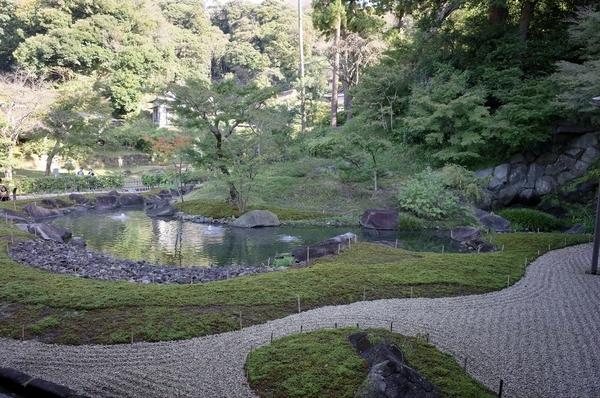 方丈裏の庭園