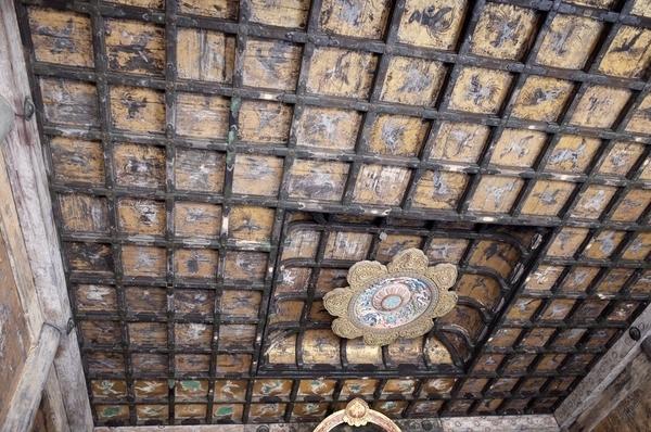 仏殿の天井