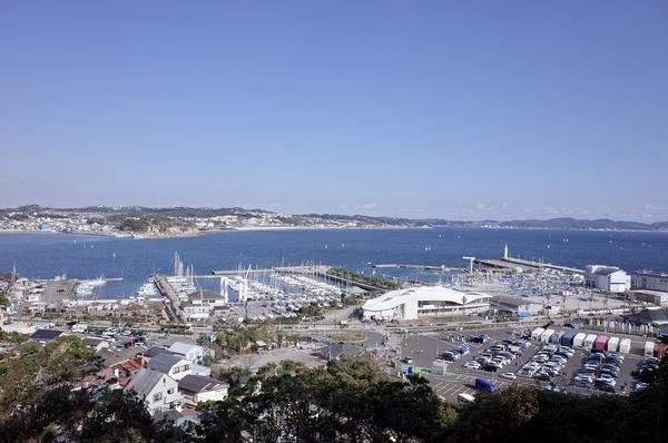 江の島からの景色