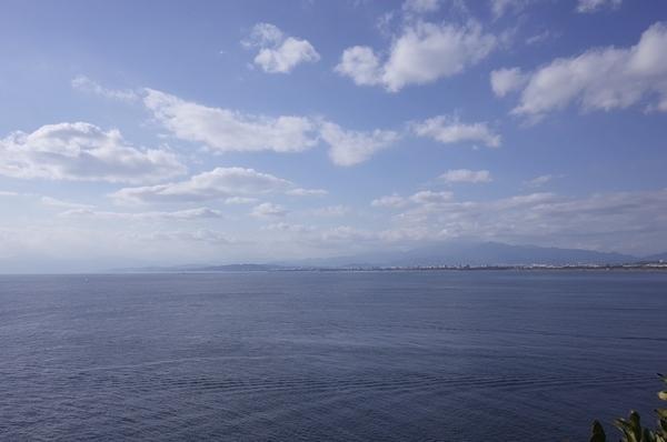 富士山は雲がかかり見えない