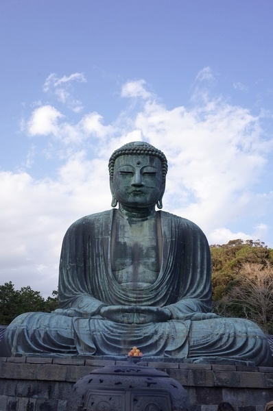 鎌倉大仏(正面)