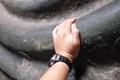 唯一の触れる国宝仏像