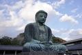 鎌倉大仏(左斜から)