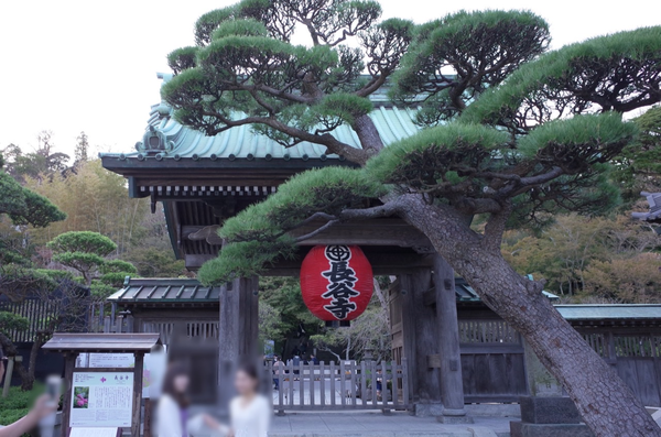 鎌倉長谷寺山門