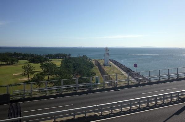 若洲昇降タワー展望台からの景色