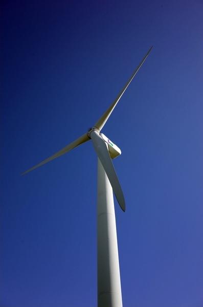 江東区若洲風力発電所の風車