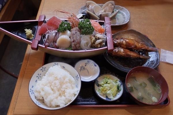 房総定食(2500円+税)