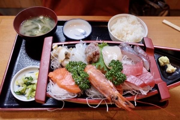 うおたみ定食(1500円+税)