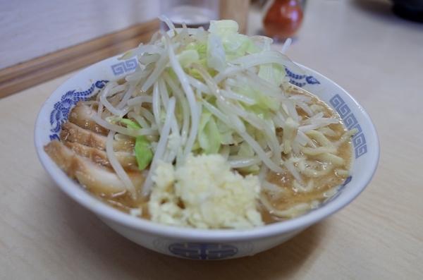 ミニラーメン(600円)ニンニク