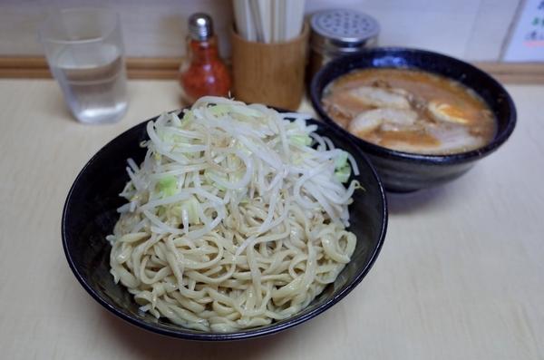 みそ付け麺(800円)自動丼追加ヤサイ