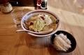 千葉タンメン(650円+税)+麺大盛(100円+税)+ライス(100円+税)