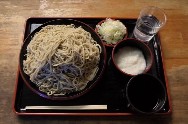 北海道摩周産地粉切り新蕎麦【大盛550g】+鯖出汁変更