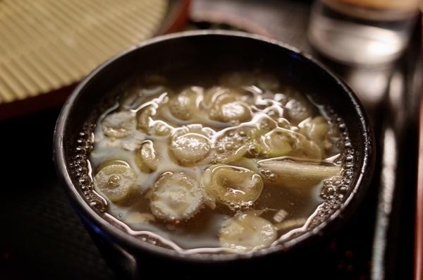 鯖出汁とろろ蕎麦湯