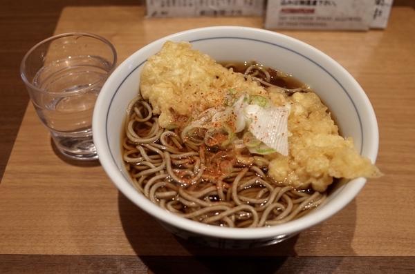 いか天そば(430円)