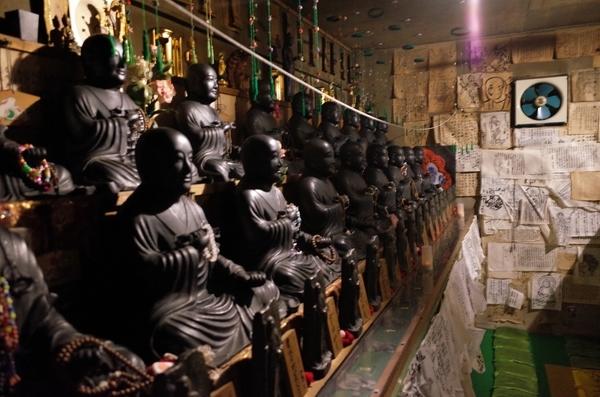 お砂踏み道場地下仏殿