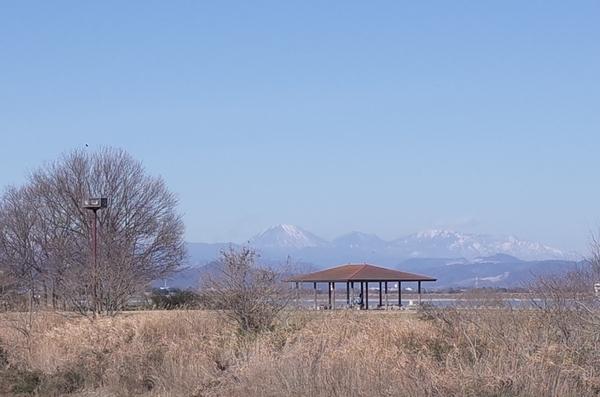 赤城山・日光白根山・男体山