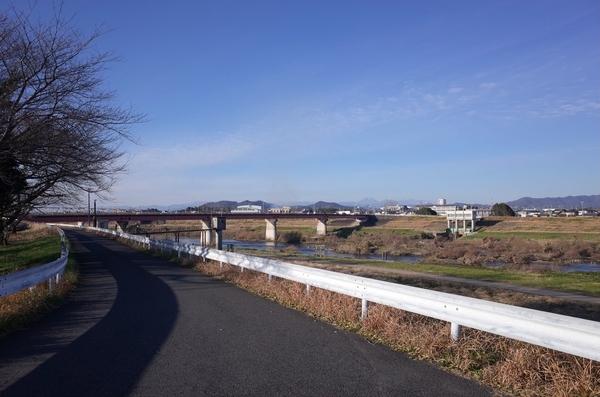 渡良瀬川に出た