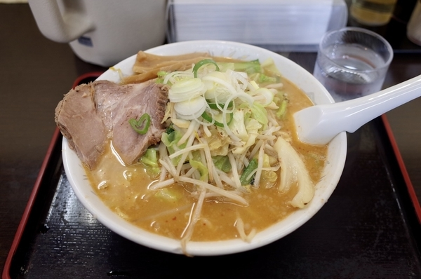 みそ野菜(910円)+麺大盛(0円)