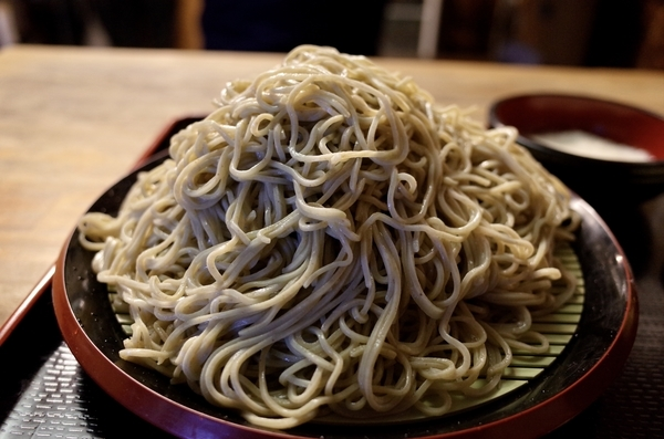 北海道摩周産新蕎麦の大盛