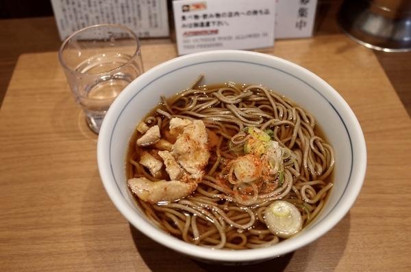 とり肉そば(380円)