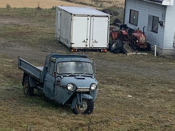 マツダの三輪トラック