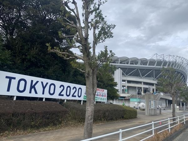 カシマサッカースタジアム入口