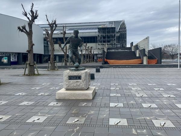 ジーコ像の広場