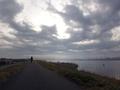 茨城側の利根川沿い