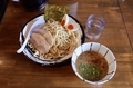 味玉つけそば(970円)+麺大盛り(130円)