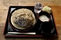 特製 牡丹蕎麦【大盛550g】(800円)+とろろ(100円)+鯖出汁変更(0円)