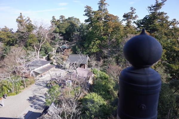 観音堂からの景色