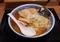 ワンタン麺(900円)+大盛(100円)