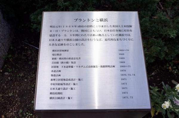 ブラントンと横浜