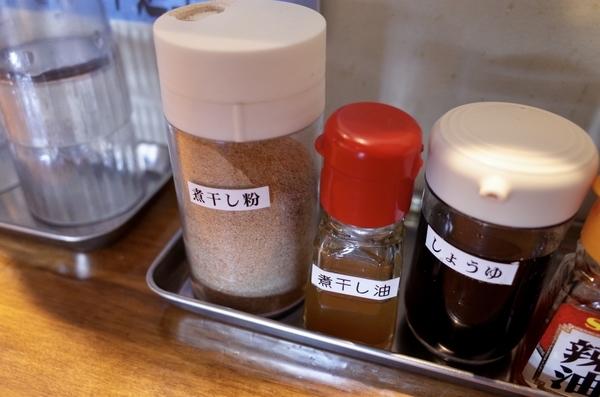 煮干し粉と煮干し油