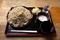 特選牡丹蕎麦【大盛550g】(800円)+とろろ(100円)+鯖出汁変更(0円)