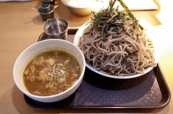 極み出汁特選スパイス 咖喱つけ蕎麦(850円)+大盛(100円)