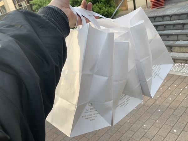 購入した角食パン三斤