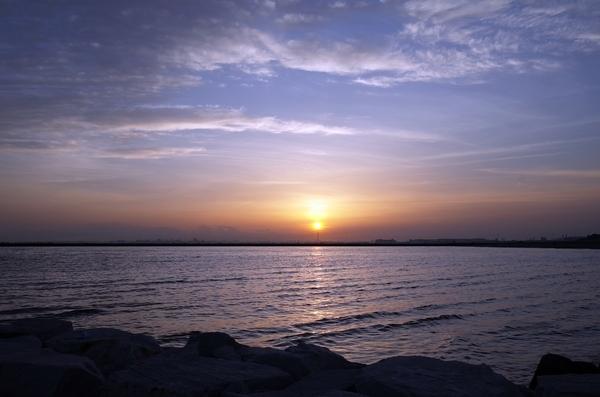 夕陽とスカイツリー1