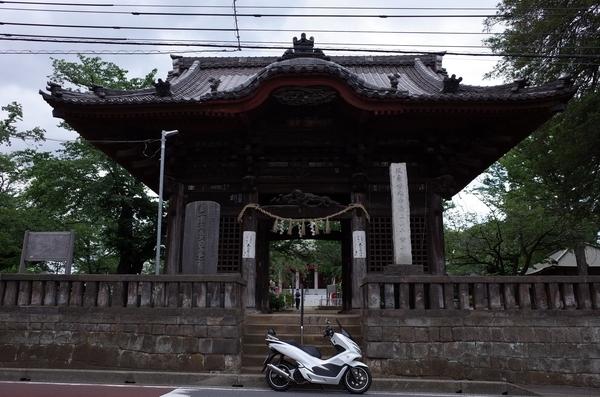 千葉寺とPCX150