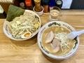 みそつけ麺(890円)スタンダード・野菜マシしょうが