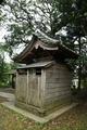 宇賀神社社殿裏