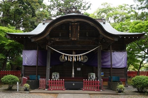 船方麻賀多神社奥院拝殿