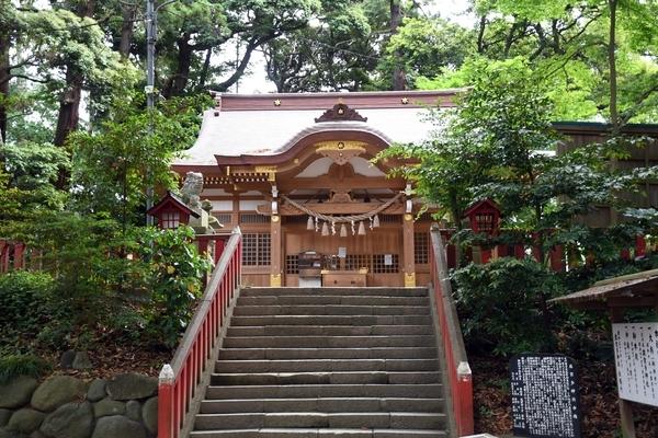 台方麻賀多神社参道石段
