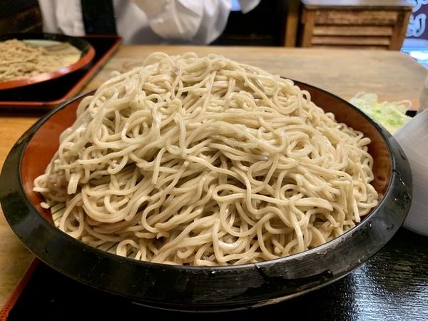 特盛の恵み蕎麦湯