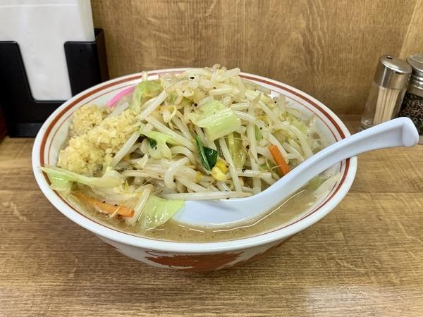 タンメン(730円)+麺大盛(100円)ショウガトリプル